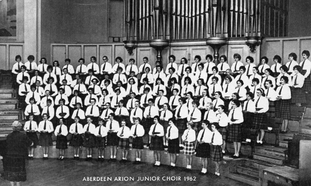 Aberdeen Arion Junior and Ladies' Choirs